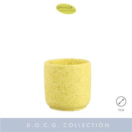 <h4>Dec Keramiek Chianti Yellow 7cm</h4>
