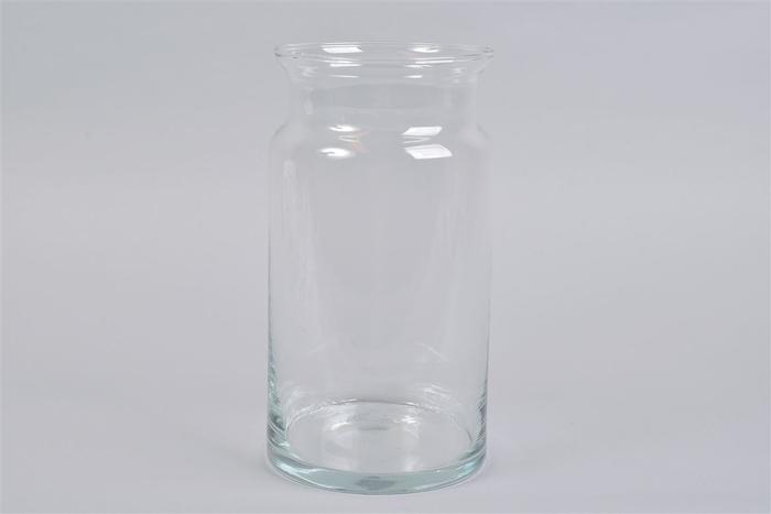 <h4>Glas Melkbus Vaas Heavy 15x30cm</h4>