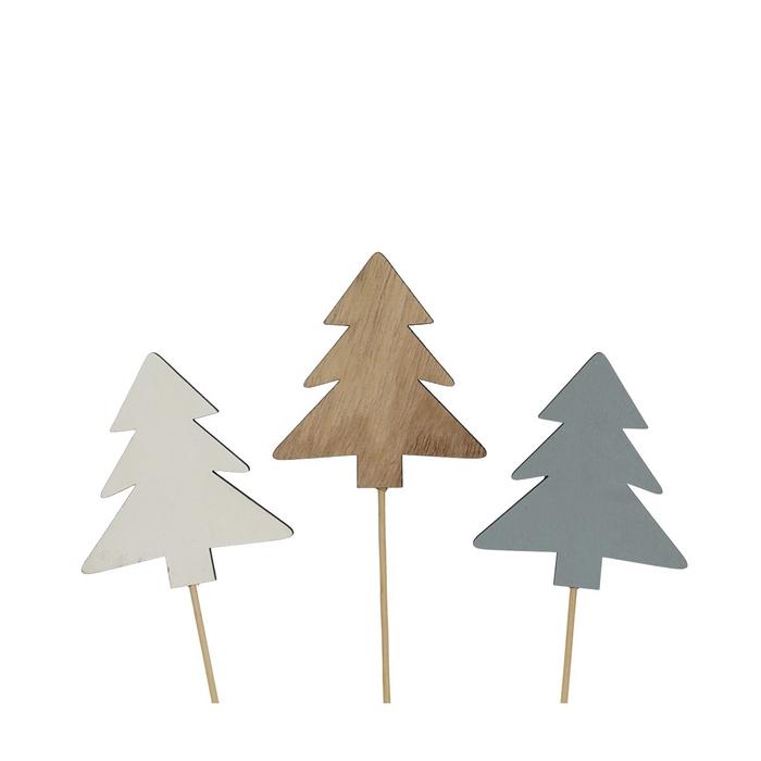 <h4>Christmas sticks 20cm Wood tree d8cm</h4>