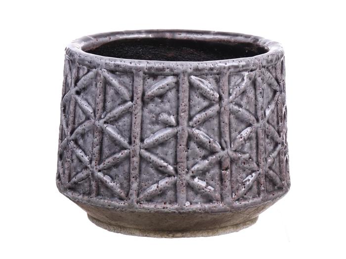 <h4>DF540111000 - Pot Malo d15.5xh12 grey</h4>