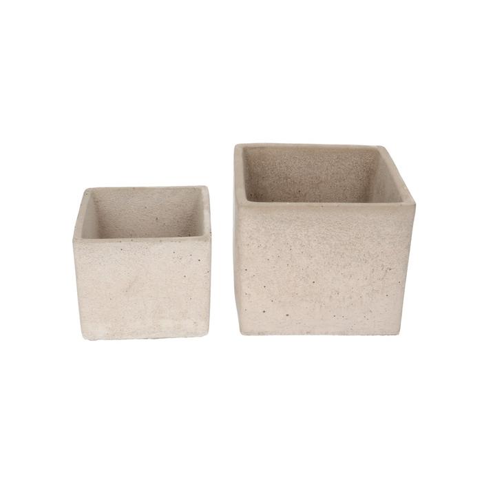 <h4>Sale Rovigo cube S/2 d14*14cm</h4>