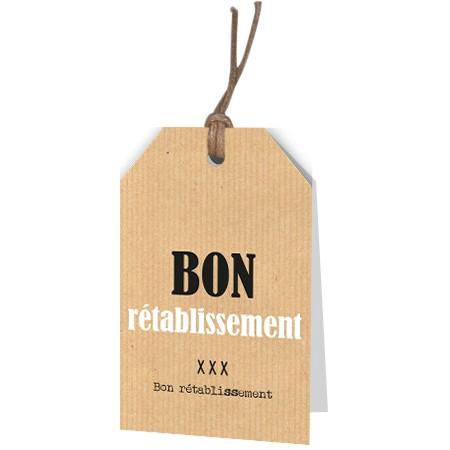 <h4>Labels Displ.Card F Bon Ré 5*8cm x12</h4>