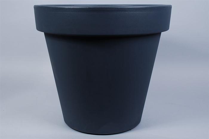 <h4>Kunststof Pot Antra Brede Rand 80cm</h4>
