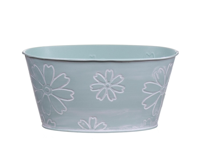 <h4>DF550242500 - Planter Jade3 20x12xh10 light blue</h4>