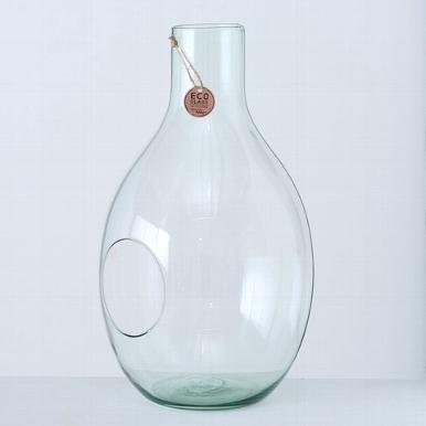 <h4>Vaas Eco-Glas, H 50 cm, Transparant</h4>
