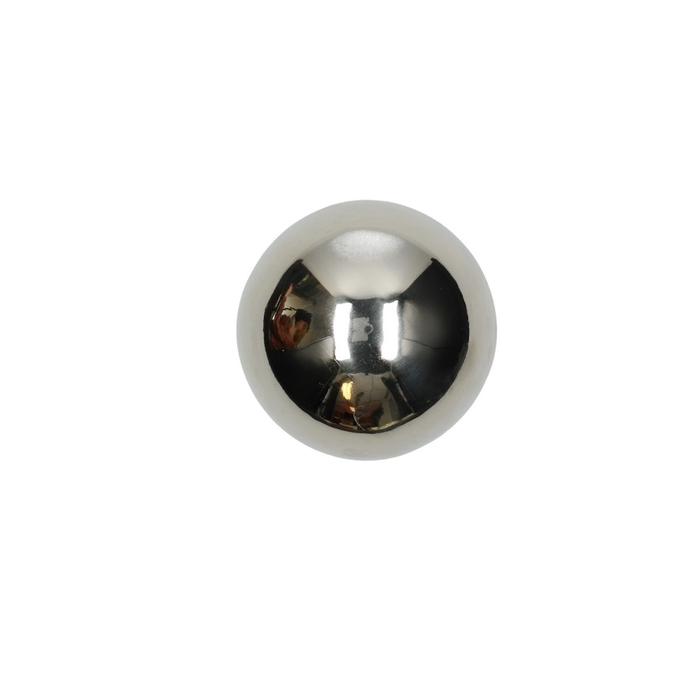<h4>Decoratie Bal metaal 8cm x6</h4>