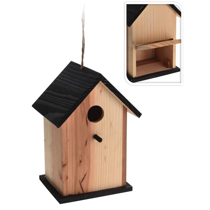 <h4>Hout Vogelhuis hout 22cm</h4>