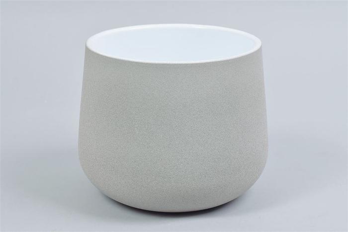 <h4>Berlijn Steentaupe Pot 19x15cm</h4>