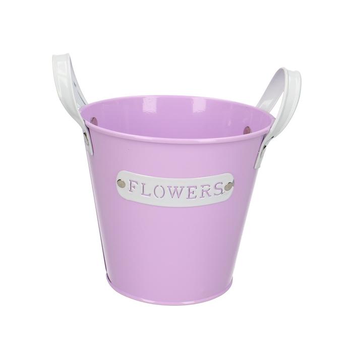 <h4>Zinc Flower pot d13*12cm</h4>