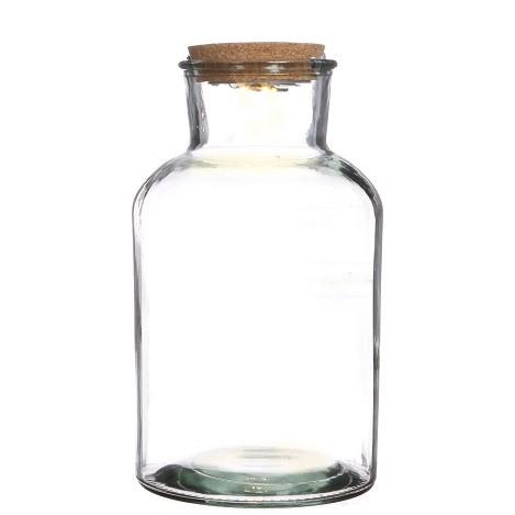 <h4>Glass Bottle medicine+LED d18*33cm</h4>