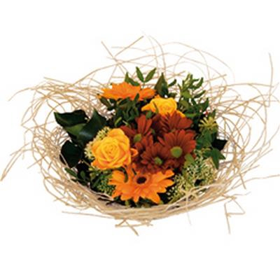 <h4>Support à bouquet woody Ø20cm crème</h4>
