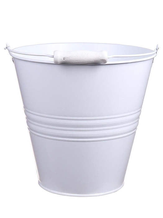 <h4>DF500064000 - Bucket Yorklyn d27xh26.5 white</h4>