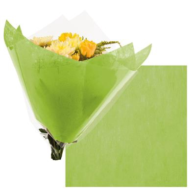 <h4>Colorflor short fibre sheet 50x50cm lime green</h4>