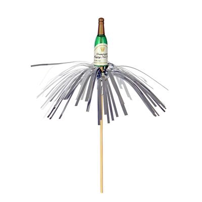 <h4>Bouteille de champagne cliquant 5x1+50cm sur tige</h4>