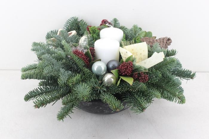 <h4>arr.. Kerst PL - Ebbischaal XL wit</h4>