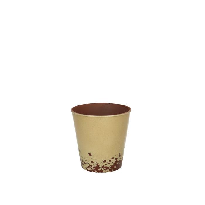 <h4>Plastic Melam rust pot d11*10.5cm</h4>