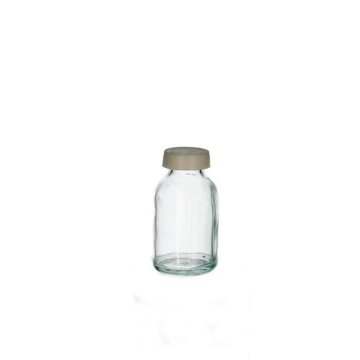 <h4>Glas Medicijnflesje+dop 20ml</h4>