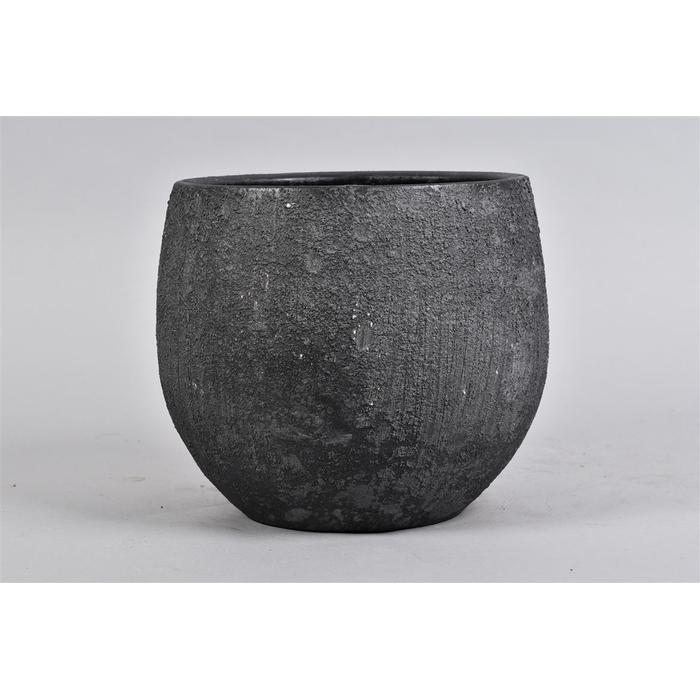 <h4>Bali Black Coal Pot 24x21cm</h4>