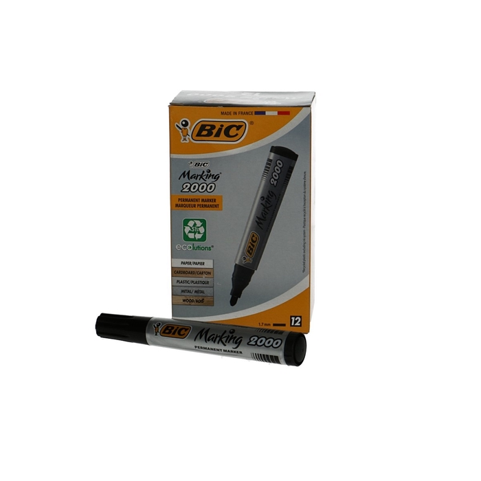 <h4>Bloemisterij Viltstift Bic2000 2.5mm x12</h4>