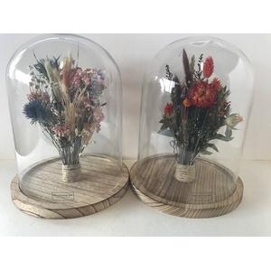 Stolp maxi d20x28h dried bouquet