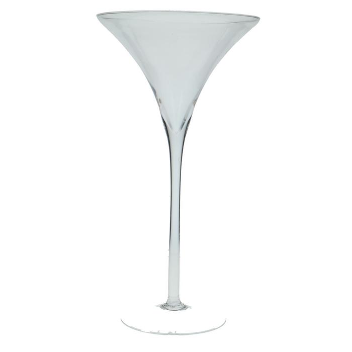 <h4>Glas Bokaal Konisch d20*40cm</h4>