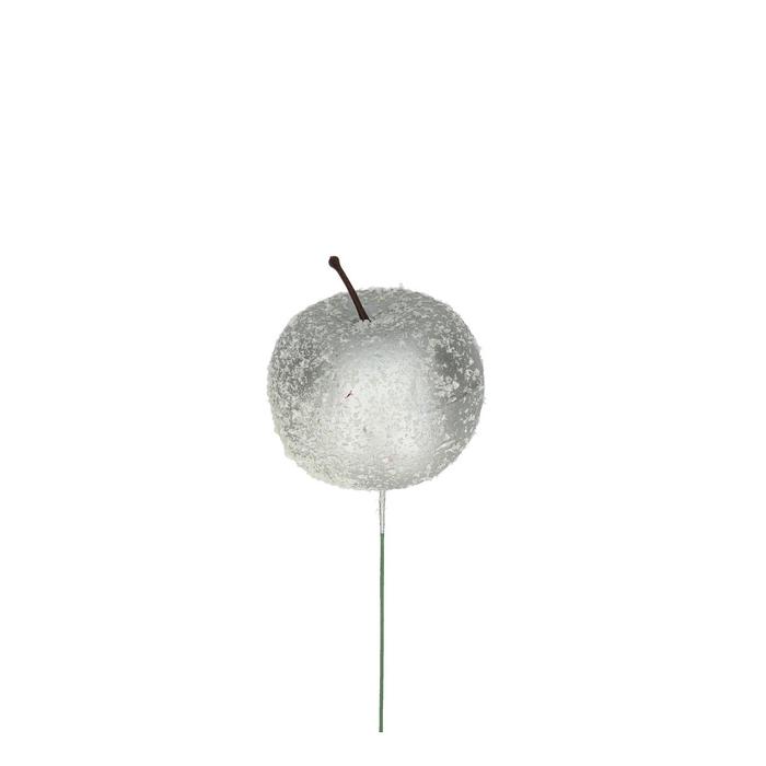 <h4>Christmas sticks 10cm Apple+snow/wire 5.5cm</h4>