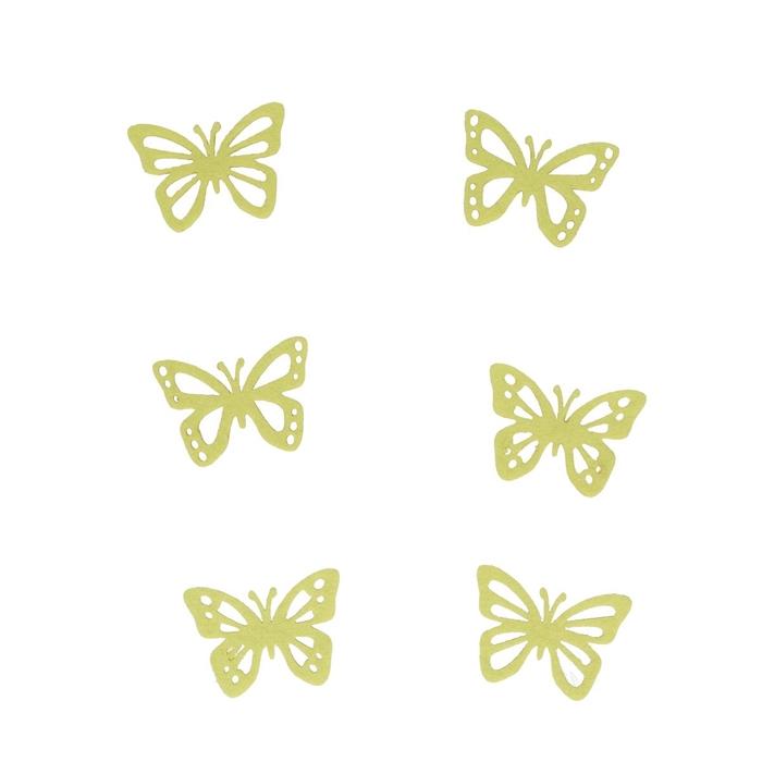 <h4>Decoratie Vlinder vilt 5.5cm x36</h4>