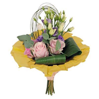 <h4>Bouquet cover kraft Ø36cm yellow</h4>