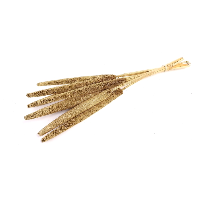 <h4>Babala on natural stem Gold with Glitter</h4>