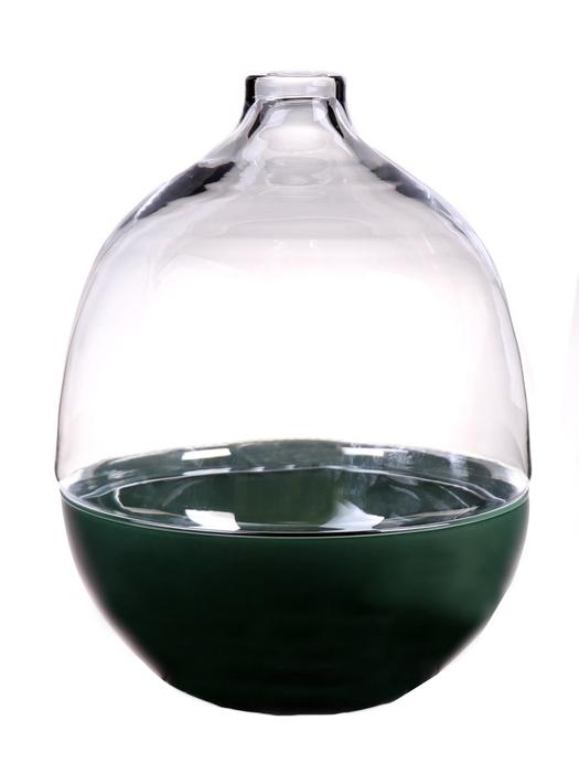 <h4>DF883610600 - Terrarium Canna1 d19.5xh26 green/clear</h4>