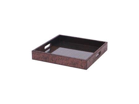 <h4>Tray Odessa square copper</h4>