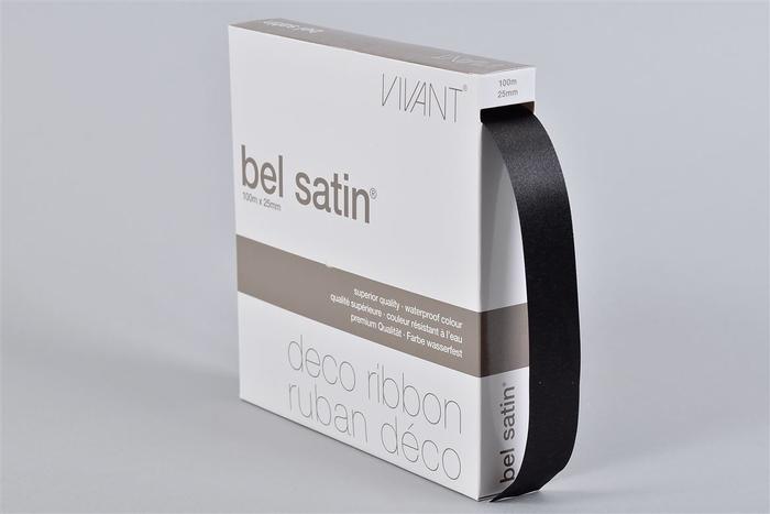 <h4>Lint Satin 85 Black 100m X 25mm P/1</h4>