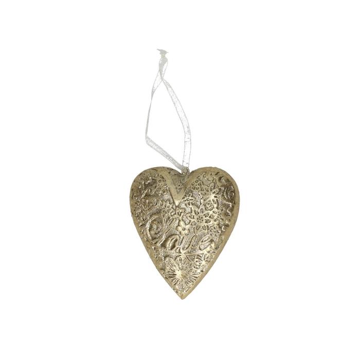<h4>Opruiming Hanger hart kunststof 8cm x4</h4>
