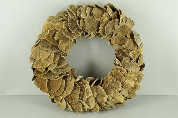<h4>Wreath Sponge Mushroom Natural</h4>