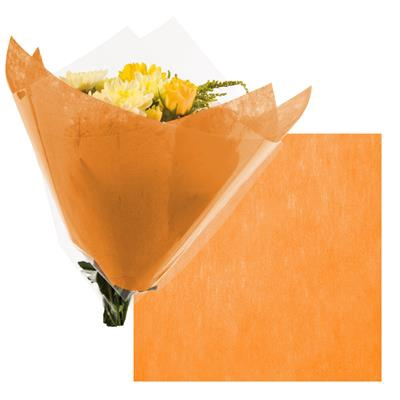 <h4>Colorflor short fibre sheet  50x50cm  orange</h4>