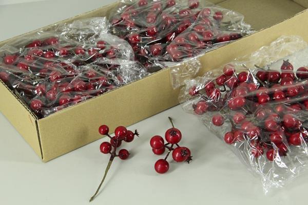 <h4>Stick Berries Rose Red Bag(24)</h4>
