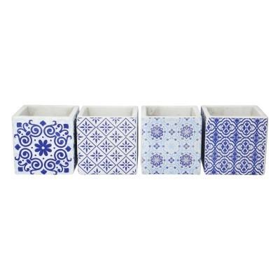 <h4>Ceramics Cube Dutch d11*11cm ass.</h4>