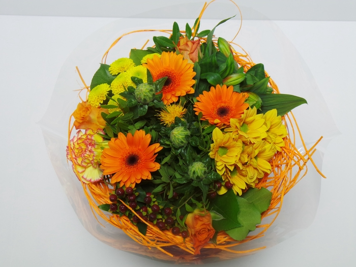 <h4>Bouquet Sisal Large Orange</h4>