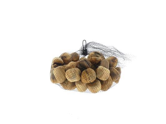 <h4>Stone Wood Bag 50pcs Natural</h4>