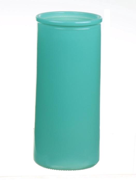 <h4>DF663830500 - Cylinder Fleurs d5.5xh12.3 blue</h4>