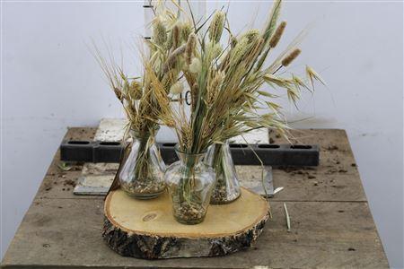 <h4>Arr Glass 3 Vase Birch</h4>
