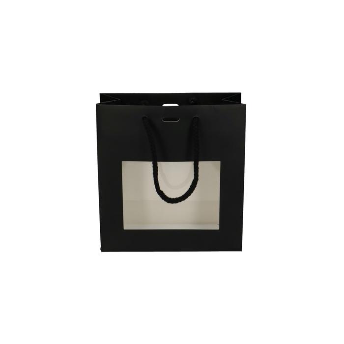 <h4>Tassen Gift bag venster 8/18*18cm</h4>