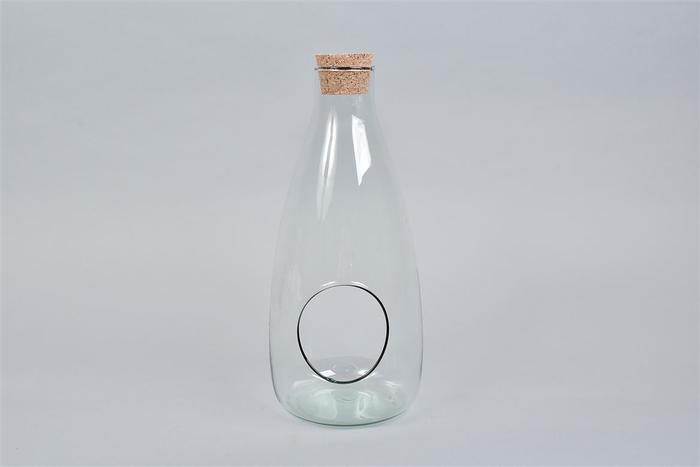 <h4>Glas Met Kurk Open 15x34cm Wk 30</h4>