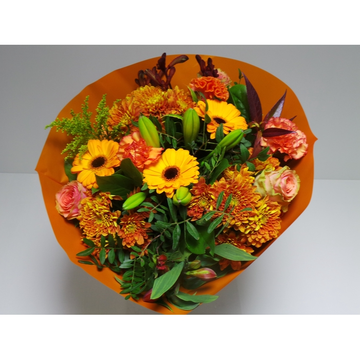 <h4>Bouquet Biedermeier Large Orange</h4>