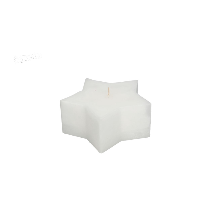 <h4>Candle Star d15*7cm rustic</h4>