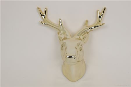 <h4>DEER HEAD CERAVIA DECO CERAMIC L20.2XW16.0XH12.0 GOLD 861806053</h4>
