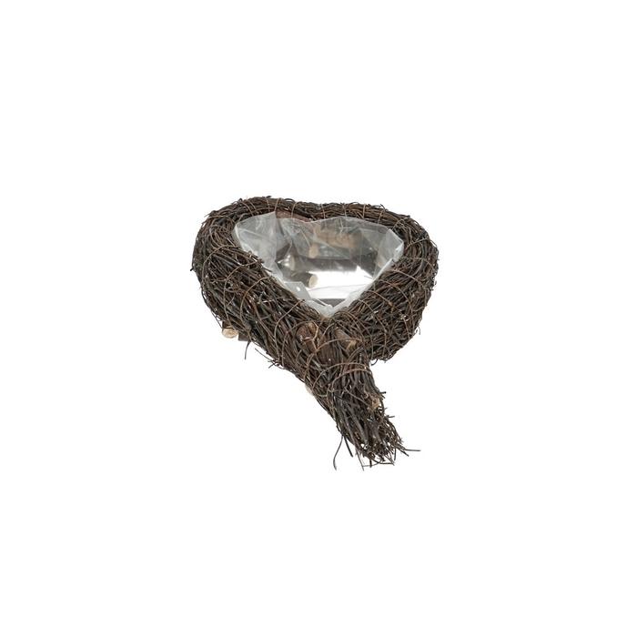 <h4>Baskets Izzy planter heart 26/17*6cm</h4>