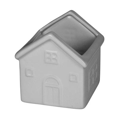 <h4>Pot maison la céramique 10x9x12cm gris</h4>