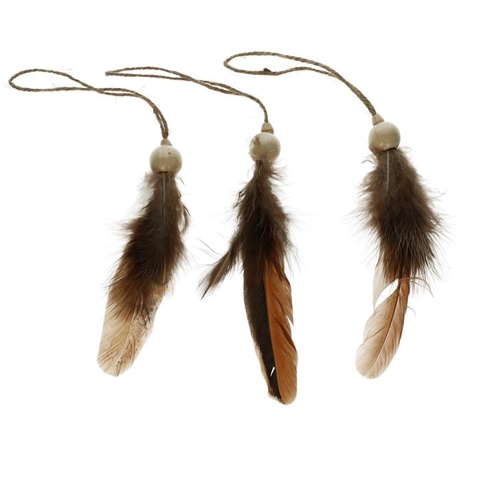 <h4>Sale Hanger feathers 22cm x3</h4>