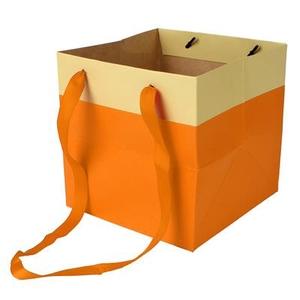 Bag Facile carton 16x16x16cm orange